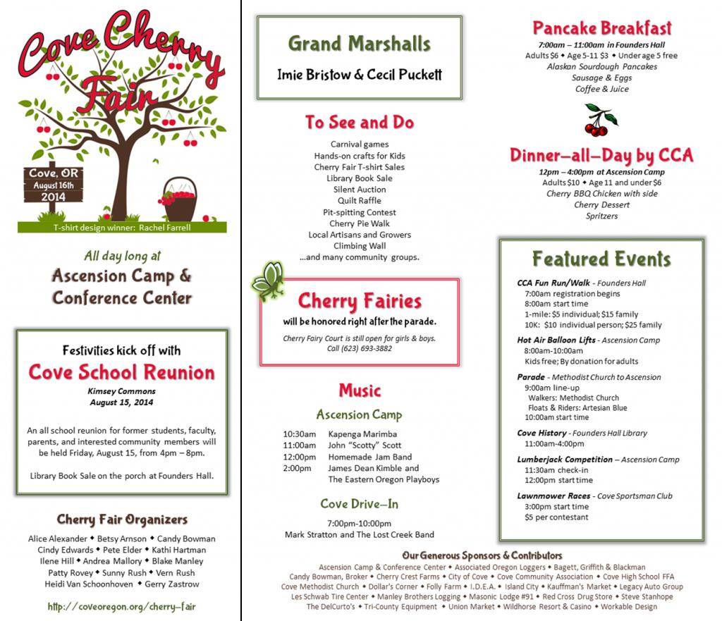CherryFairSchedule