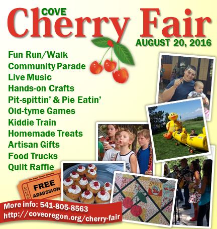 2016 Cherry Fair ad