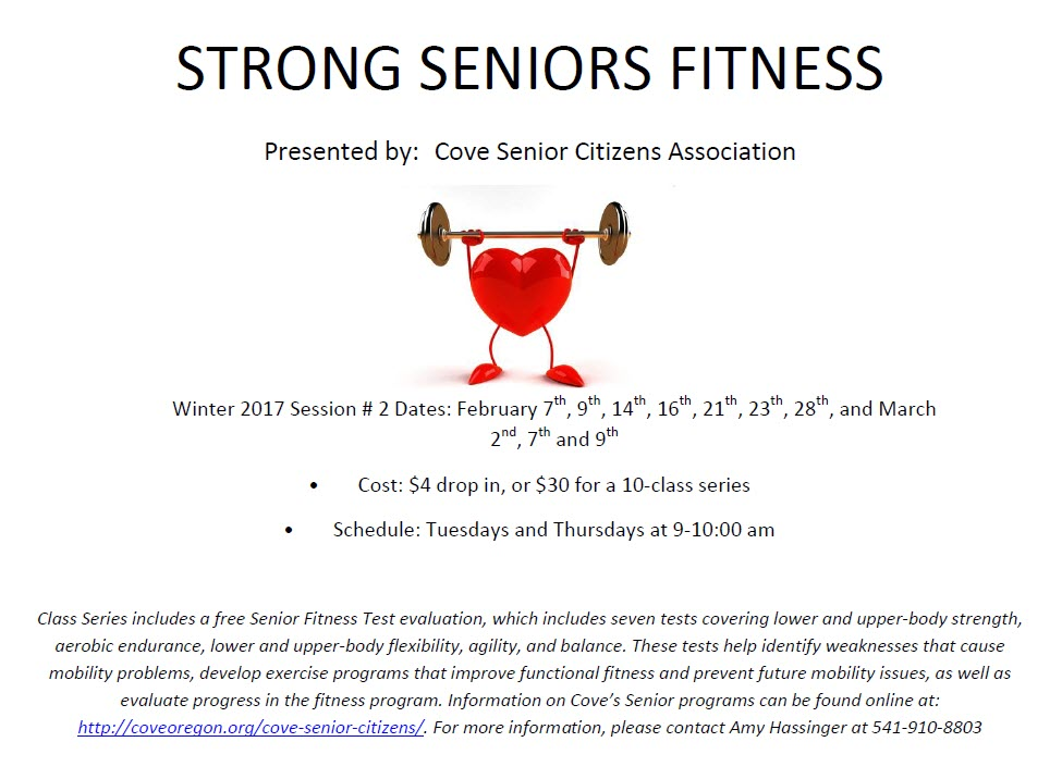 strong senior flyer with link to pdf